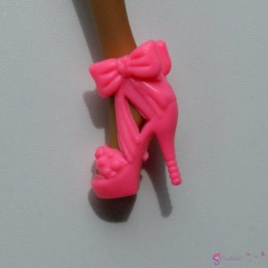 Doll's shoes nr 13 - pink