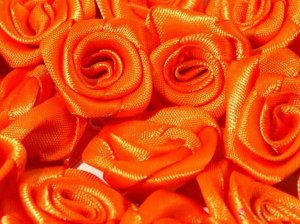 rubella decorative 15-20 mm - Orange