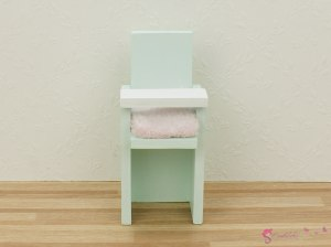 Colored chairs for baby