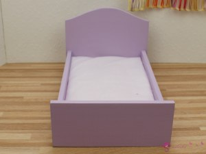 Colorful dolls' beds