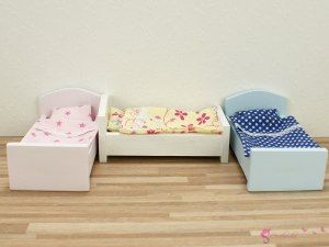 Colorful small beds