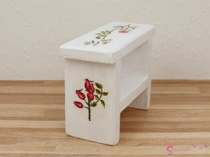 "Small shelf ""Rose Garden"""