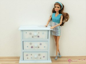 "High chest of drawers ""Frozen"""