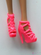 Doll's shoes nr 24 - pink