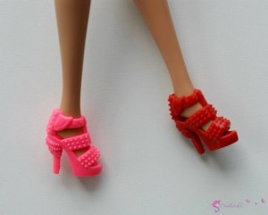 Doll's shoes nr 4 - red