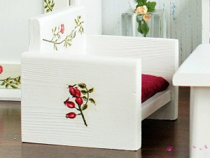"Armchair ""rose garden"""