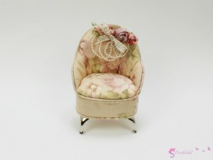 Jewellery Box - armchair for dolls Elegant""
