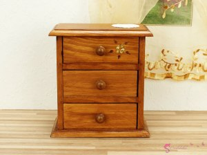 "High chest of drawers ""fern flower"""