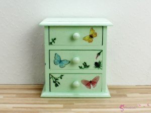 High chest of drawers ' Flower fairy '